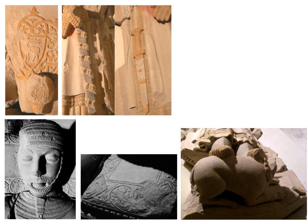 Detalles del sepulcro